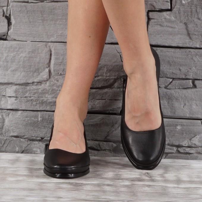 Дамски обувки естествена кожа GS  7685