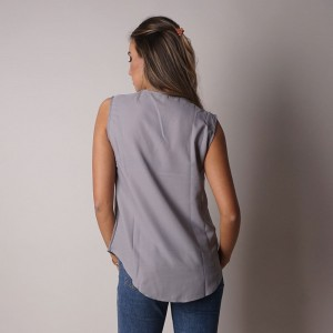 Дамска блуза без ръкави 6374