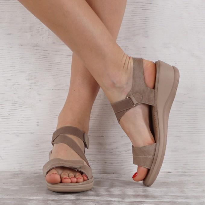 Дамски сандали еко кожа GS 6748