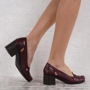 Дамски Обувки естествена кожа GS 6899