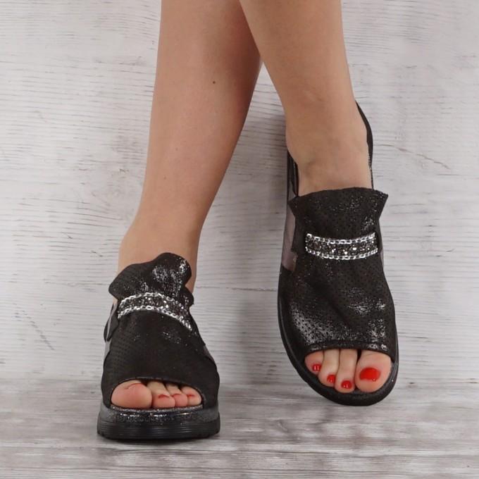 Дамски Обувки естествена кожа GS 6937