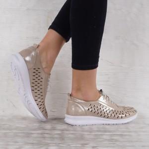 Дамски Обувки естествена кожа GS 7017