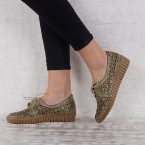 Дамски Обувки естествена кожа GS 7191