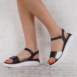 Дамски сандали естествена кожа VISINI 7231
