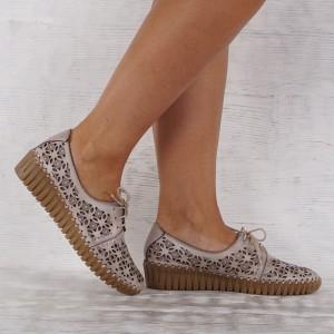 Дамски Обувки естествена кожа GS 7190