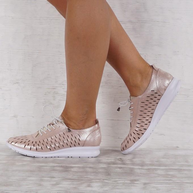 Дамски обувки естествена кожа GS 7603
