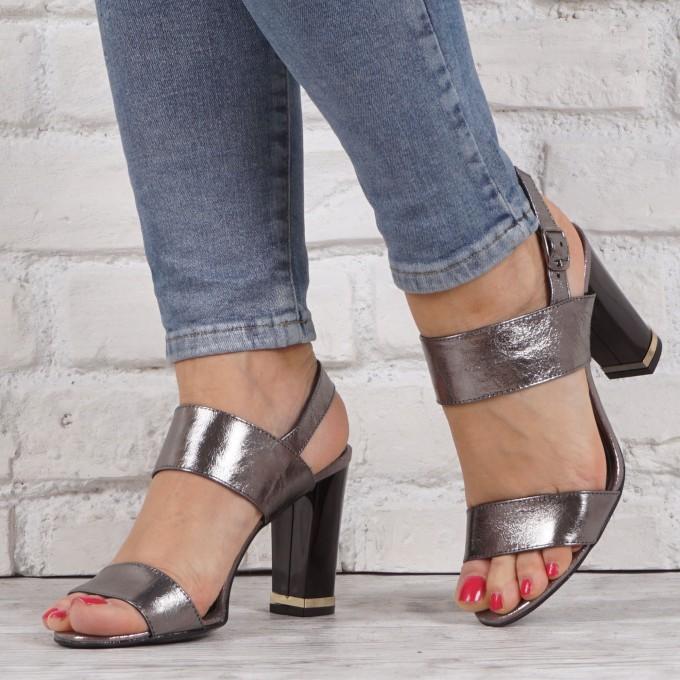 Дамски сандали естествена кожа VISINI 1840