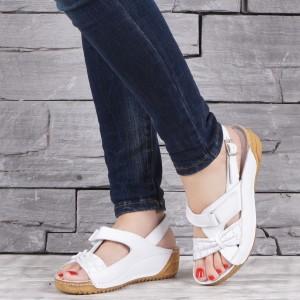 Дамски сандали естествена кожа GS 2012