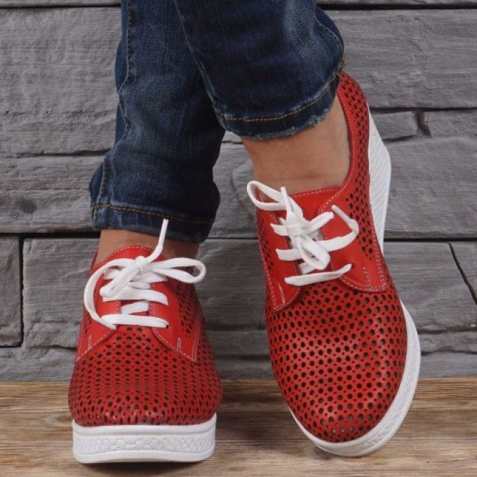 Дамски Обувки естествена кожа GS 242