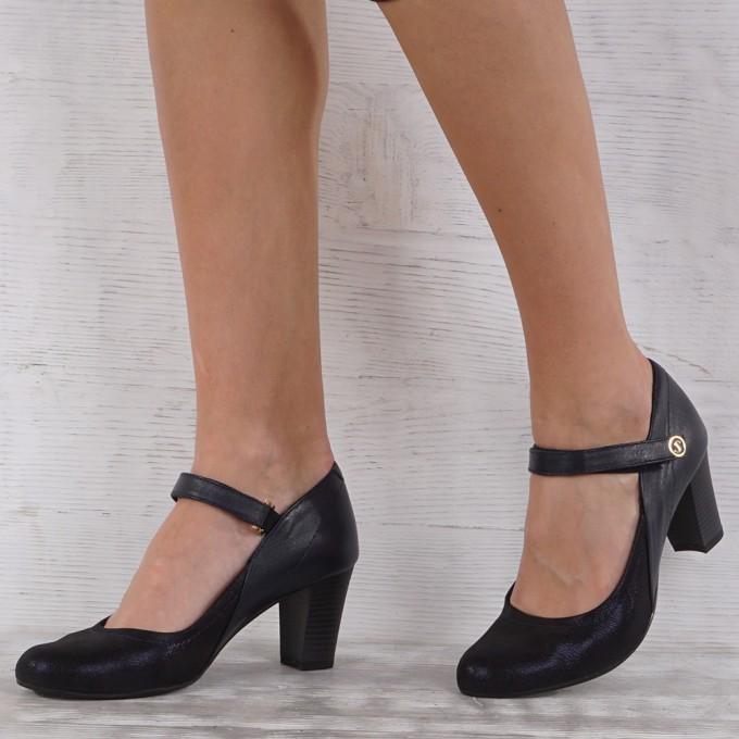 Дамски Обувки естествена кожа VISINI 3244