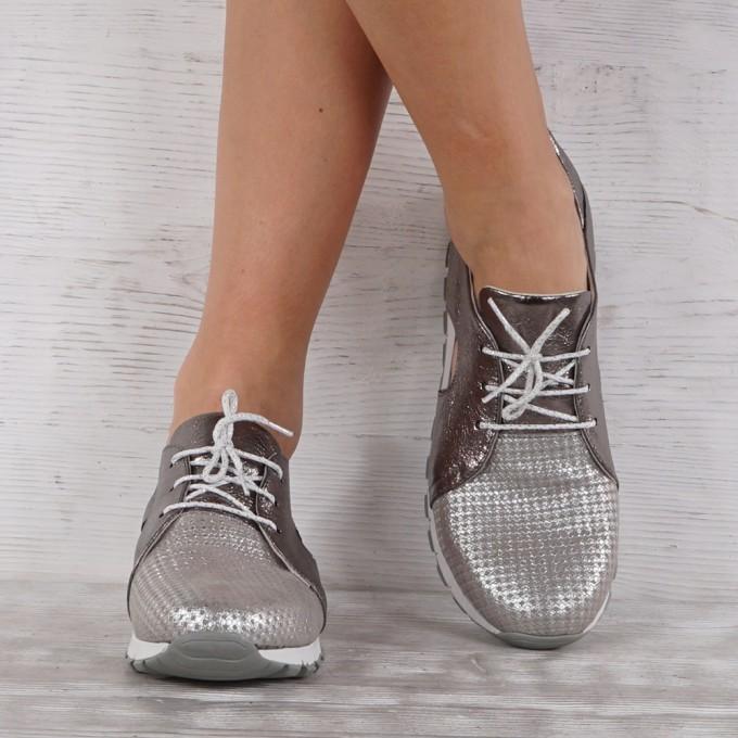 Дамски Обувки естествена кожа VISINI 4537