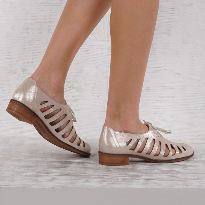 Дамски Обувки естествена кожа GS 5223