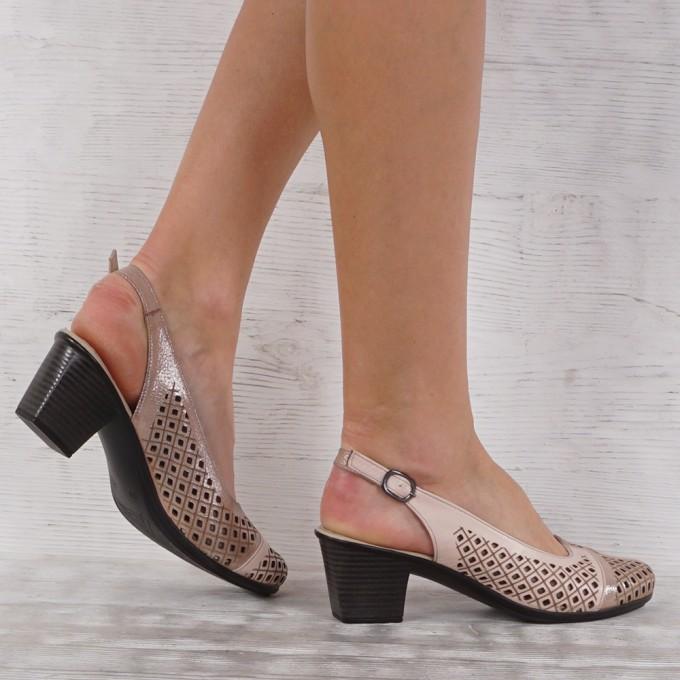 Дамски Обувки естествена кожа GS 5420