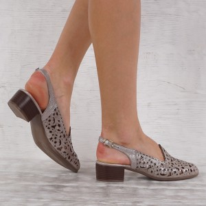 Дамски Обувки естествена кожа GS 5634