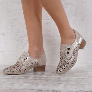 Дамски Обувки естествена кожа GS 7090