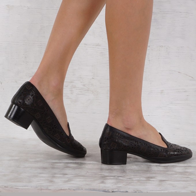 Дамски Обувки естествена кожа GS 7095