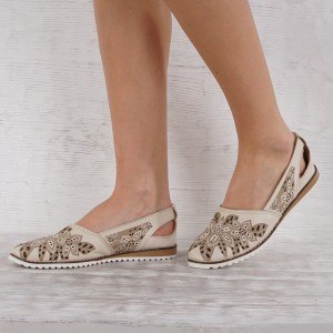 Дамски Обувки естествена кожа GS 7101