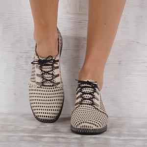 Дамски Обувки естествена кожа GS 7116