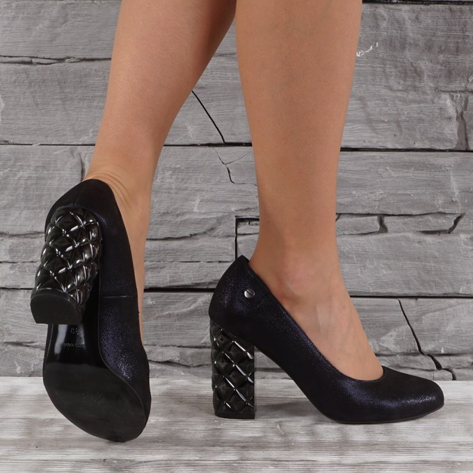 Дамски Обувки естествена кожа VISINI 4155