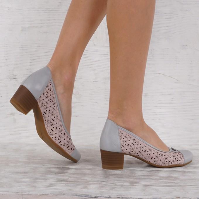 Дамски Обувки естествена кожа VISINI 4775
