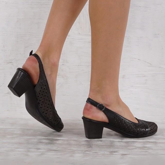 Дамски Обувки естествена кожа GS 5478