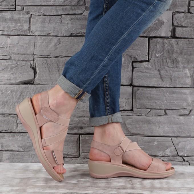 Дамски сандали еко кожа GS 6749