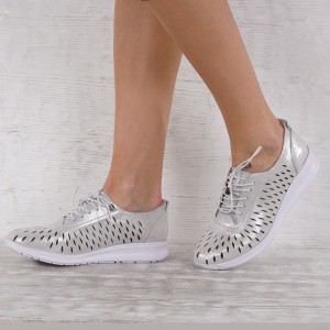 Дамски обувки естествена кожа GS 6897