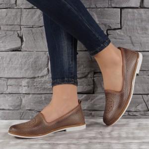 Дамски обувки естествена кожа GS 6901