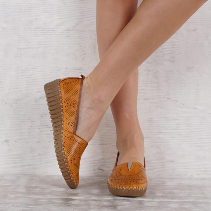 Дамски Обувки естествена кожа GS 7163