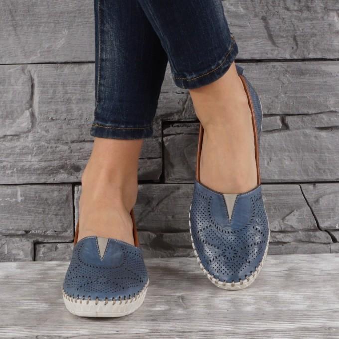 Дамски Обувки естествена кожа GS 7165