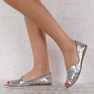 Дамски обувки естествена кожа GS 7226
