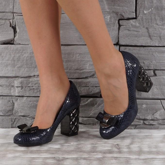 Дамски Обувки естествен лак VISINI 7403