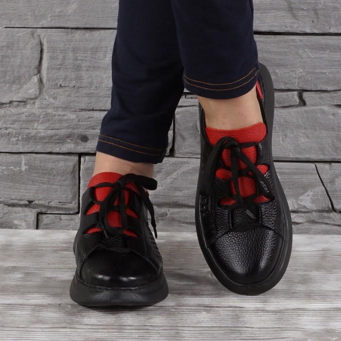 Дамски Обувки естествена кожа GS 7701