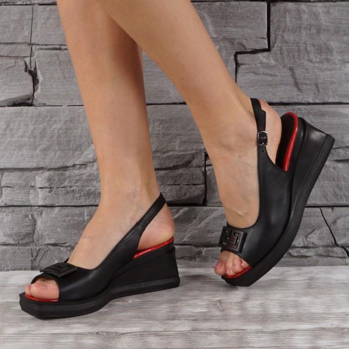 Дамски сандали естествена кожа VISINI 7827