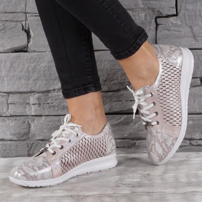 Дамски Обувки естествена кожа GS 7845