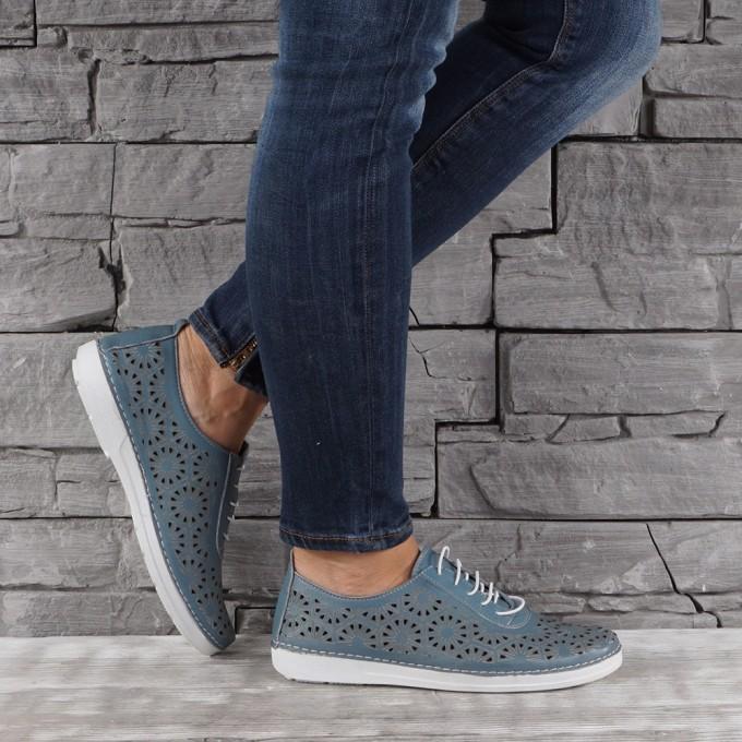 Дамски Обувки естествена кожа GS 7889