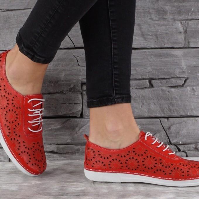 Дамски Обувки естествена кожа GS 7916