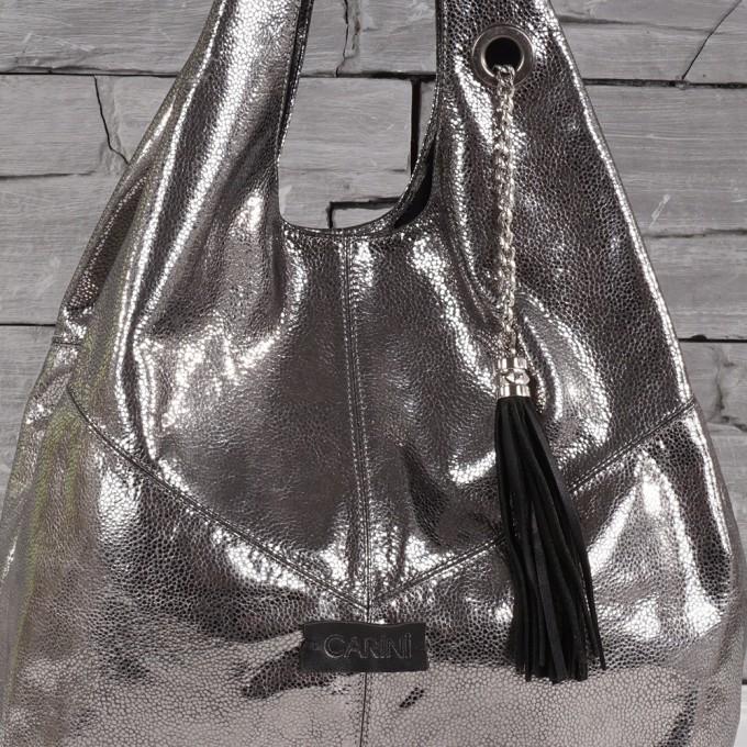 Дамска чанта естествена кожа GS 6009