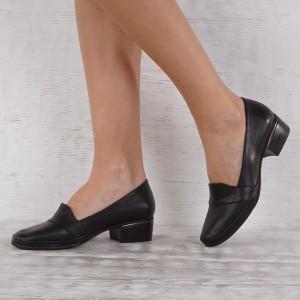 Дамски обувки естествена кожа GS 6768