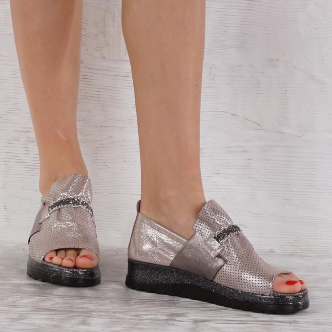 Дамски Обувки естествена кожа GS 6938