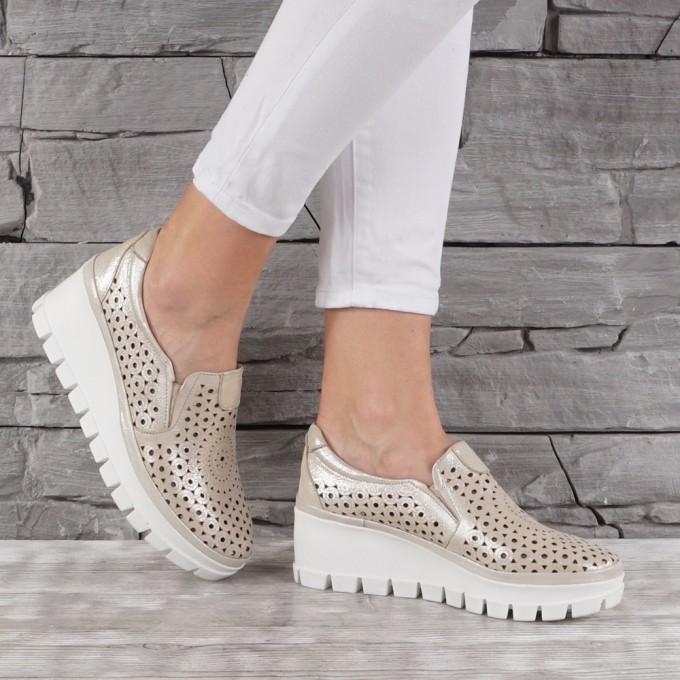 Дамски обувки естествена кожа GS 7147