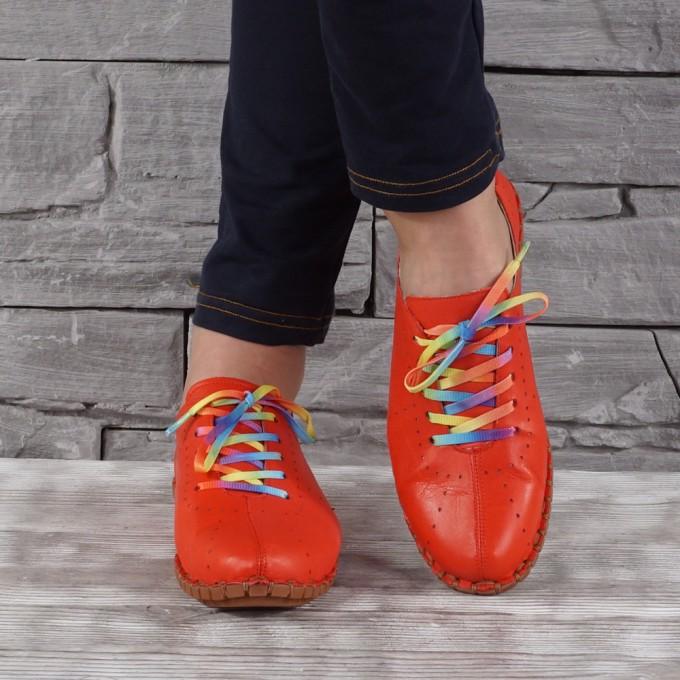 Дамски обувки естествена кожа GS 7161