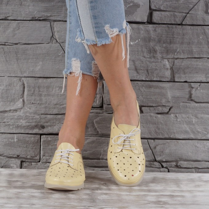 Дамски Обувки естествена кожа GS 7687