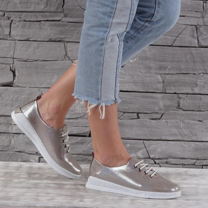 Дамски Обувки естествена кожа GS 7689