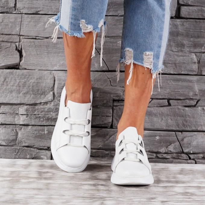 Дамски Обувки естествена кожа VISINI 7699