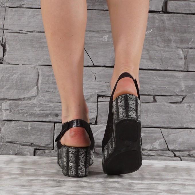 Дамски сандали естествена кожа VISINI 7800