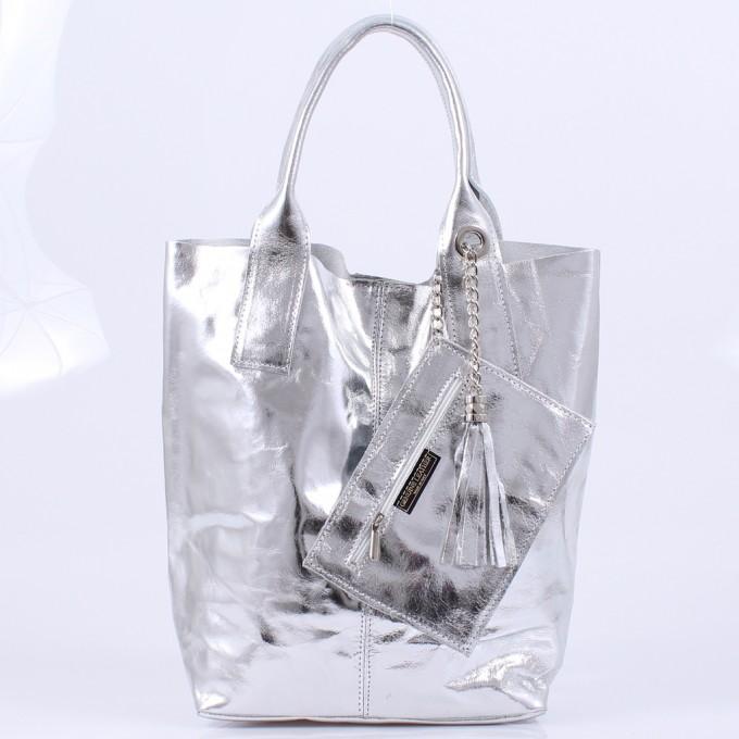 Дамска чанта естествена кожа GS 755