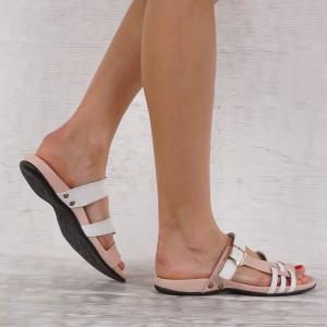 Дамски чехли естествена кожа GS 2686