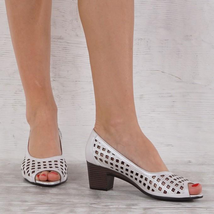 Дамски Обувки естествена кожа GS 7152