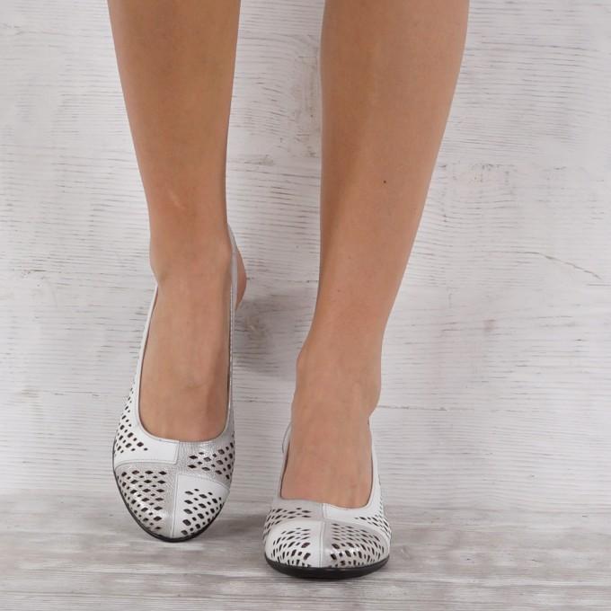 Дамски Обувки естествена кожа GS 7155